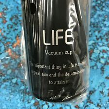 LIFE Stainless Steel Vacuum Cup Tea Filter Thermal Water Bottle 500 ml Flask NEW