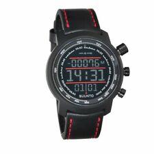 NEW Suunto Elementum Terra Black / Red Leather Premium Watch SS019171000