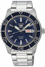 NEW SEIKO SNZH53K1,Men's Sport,Automatic,Stainless steel,Rotating Bezel,100m WR