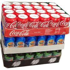 "Coca Cola ,Mountain Dew&Spezi je 24 x 0,33l Dose XXL-Paket ""72 dosen total"""