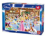 Childrens Kids 99 Piece Jigsaw Puzzle Toy Disney Tea Time Party 05178A