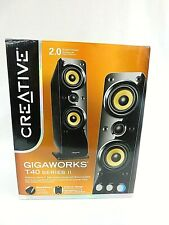 Creative stereo speakers GigaWorks T40 Series II 2.0ch Premium Home Theater NEW