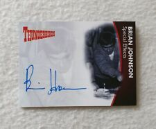 Unstoppable Cards Thunderbirds Series 2 Autograph Card Mike Brian Johnson BJ1