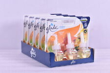 Lot Of 5 Glade Plug Ins 3 - Pack Scented Oil Hawaiian Breeze (15 Total Reflls)