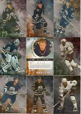 1998-99 ITG Be A Player Regular Silver Edmonton Oilers Complete Team Set (10)