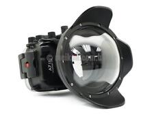 130ft/40m Underwater Waterproof Housing for Sony A7 II & SeaFrogs Dry Dome port