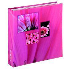 "Photo Album 6x4 / 6""x4"" inch / 10x15cm / 200 Photos - Hama Singo Memo - Pink"