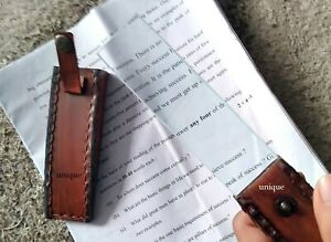 Maritime Magnifying Glass ~Chart Reader With Leather Case Collectible Gift.