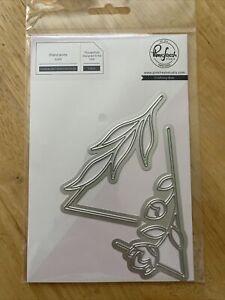Pinkfresh Studio Crafting Dies, Botanical Triangle 2pc NEW PFSA1120