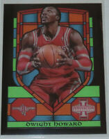 2013/14 Dwight Howard Rockets Panini Innovation Stained Glass Insert Card #25 MT