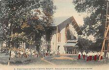 POSTCARD  BURMA  RANGOON   CHILDREN'S SCHOOL  US BAPTIST FOREIGN MISSON