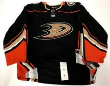 ANAHEIM DUCKS - size 56 = sz XXL - ADIDAS NHL HOCKEY JERSEY Climalite Authentic