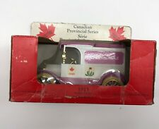 "ERTL 1913 Model T Ford Delivery Van ""Canadian Provincial Series"" Die Cast Bank"