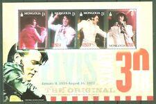 Mongolei 2007 - Elvis Presley - The King - Musik - 30. Todestag - Klb. 3629-32