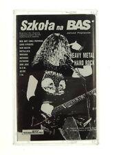Vintage Used  Cassette Tape Szkola Na BASJanusz Poplavwski Heavy Metal Nr 5996