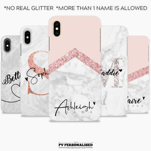 PERSONALISED INITIALS SILICONE PHONE CASE COVER FOR APPLE IPHONE XR 7 8 X XS MAX