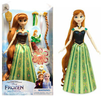 New 2021 Disney Store Anna Hair Play Doll, Frozen Gift