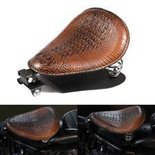 """Alligator Solo Seat 3"""" Spring Bracket Base Kit For Harley Chopper Bobber Custom"""