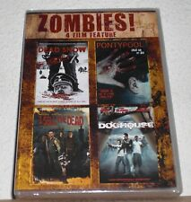 Zombies! 4 DVD SET (Dead Snow, Pontypool, I Sell the Dead, and Doghouse) NEW