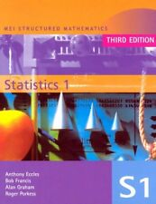 MEI Statistics 1 (MEI Structured Mathematics (A+AS Level)) (v. 1) By Roger Pork