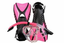 IST Otter Snorkelling Set Pink (large Size 10-13) -