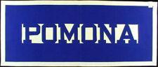 Pomona College ORIGINAL 1930s Felt Banner Sagehens Claremont California Chipenco