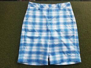 Puma Golf Women's + L + POLY / Dry Cell + Blue Pattern + gw00546