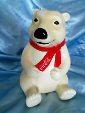 Vintage Coca-Colar Bear Piggy Bank
