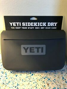 YETI Sidekick Dry Waterproof Gear Bag - Charcoal Gray - NEW