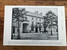 More details for  1895 print from racing illustrated - the salutation in doncaster & horses