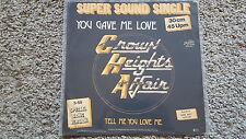 "Crown Heights Affair-You Gave Me Love 12"" vinile discoteca"