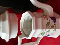 """Vintage Henry Ford Museum Collection Large Tea Pot 10.5"""" Tall by Iroquois  USA"""