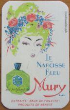 Perfume Card 1940s 'Le Narcisse Bleu' - Mury, Paris, France
