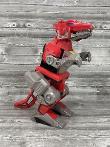 "2015 MATTEL IMAGINEXT Power Rangers 10"" T-REX Zord Figure Dino Nice"