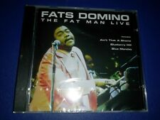 Fats Domino - The Fat Man Live Cd / Scratch Free Disc / Ships Free
