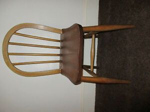 1960s. Retro childes School chair