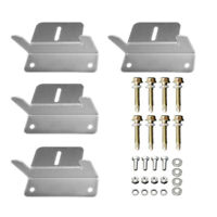 HQST 4 Sets of Solar Panel Mounting Z Brackets for RV, Boat, Wall