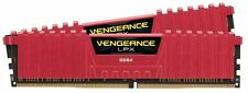 BRAND NEW CORSAIR CMK16GX4M2A2400C16R 16GB 2 x 8GB VENGEANCE LPX DDR4 RED (CH)