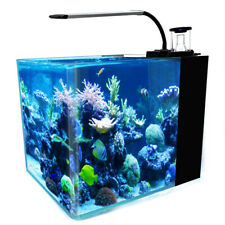 8-Gallon Saltwater Aquarium Marine Fish Tank Reef Tank, Protein Skimmer, etc,