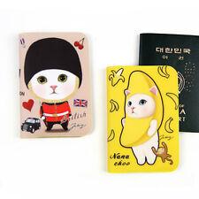 1x Jetoy British Kitty NaNaChoo Passport Holder Cover Travel Wallet Organizer