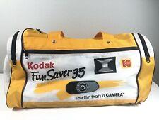 Vintage Kodak Fun Saver 35mm Film Yellow Gold Vintage Gym Travel Duffel Bag