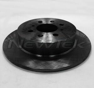 Disc Brake Rotor Rear NewTek 31380 fits 02-03 Honda Civic