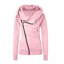 Womens Long Sleeve Hoodies Sweater Pullover Hooded Sweatshirt Coat Jacket Tops