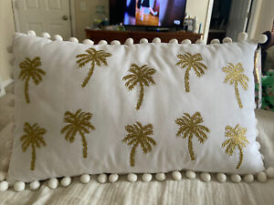 lilly pulitzer outdoor pillow, NWT