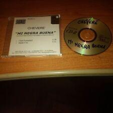 CDr PROMO CHEVERE' MI NEGRA BUENA NEW MUSIC PROMO 21 DUE TRACCE