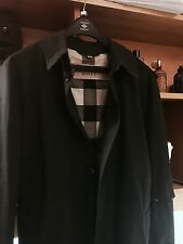 RARE !! Authentic Burberry BRIT London Single Breasted Trench Coat Jacket XL TG