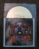 2001 NECA KISS Alive A25 Psycho Circus 1998 Die-Cut Gold Album Cover Insert Card