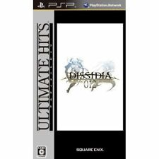 Used PSP Dissidia 012 Duodecim Final Fantasy SONY PLAYSTATION JAPAN IMPORT