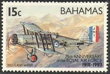 WESTLAND WAPITI / RAF 75th Aircraft Aircraft Mint Stamp (1993 Bahamas)