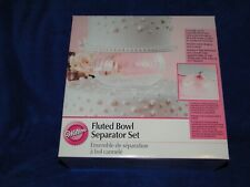 New Wilted Fluted Bowl Separator Set 303-823, discontinued item